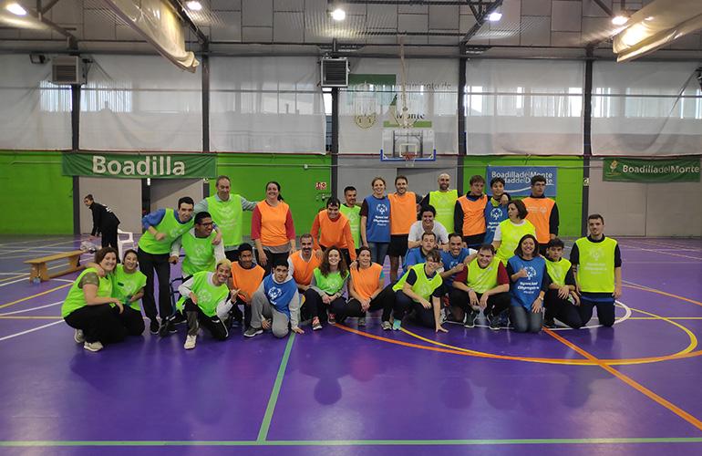 olimpiadas especiales baloncesto senderismo