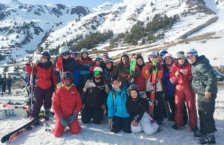 curso esqui alapar