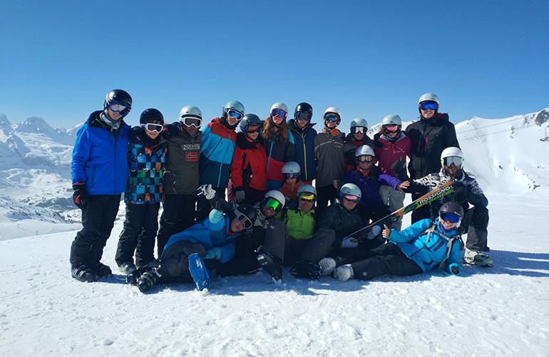 esqui a la par
